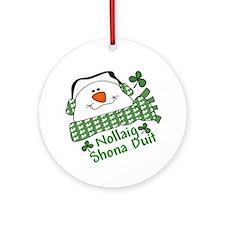 CUTE Irish Christmas Ornament