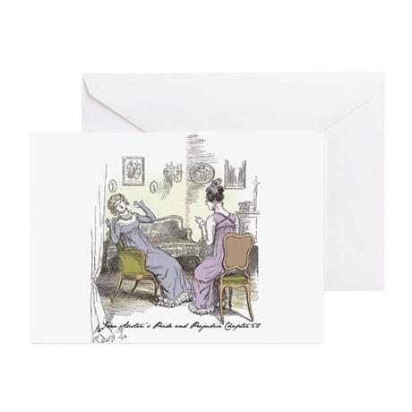 Pride and Prejudice Ch 52 Greeting Cards (Pk of 10