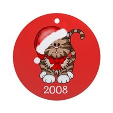Cat Lovers Ornament Dated 2008