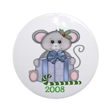 Christmas Mouse Dated Ornament