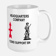HQ Company <BR>132nd Support Bn <BR>15 Ounce Mug