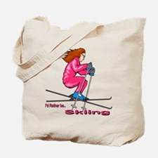 IRB Skiing (woman) Tote Bag