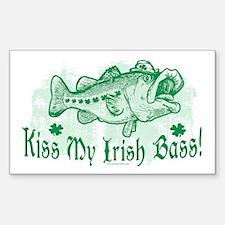 My Irish Bass Rectangle Decal