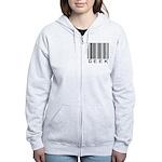 Barcode Geek Women's Zip Hoodie