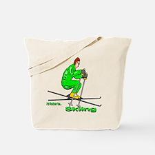 IRB Skiing (man) Tote Bag