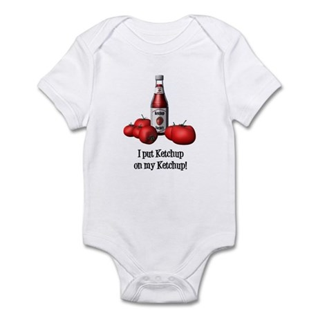 Ketchup on my Ketchup Infant Bodysuit