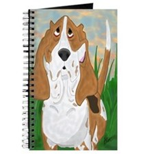 Basset Hound Art Journal