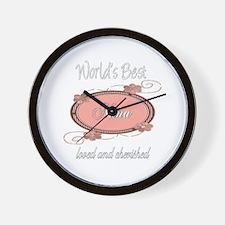 Cherished Nana Wall Clock