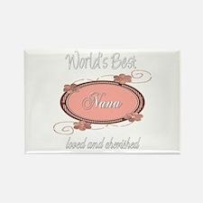 Cherished Nana Rectangle Magnet (100 pack)