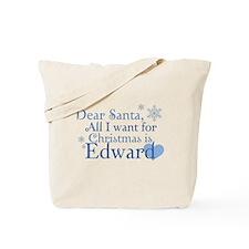 Dear Santa, All I want Tote Bag