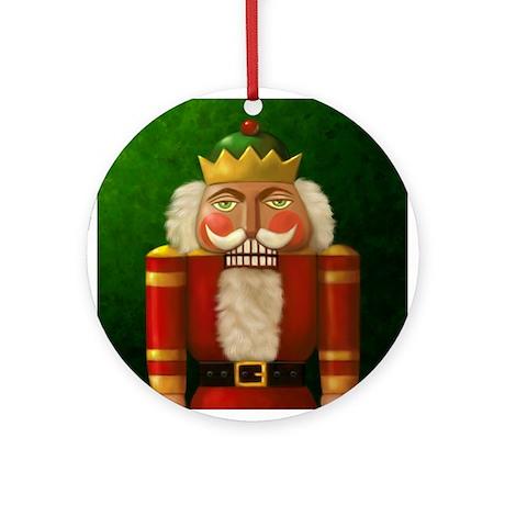 Christmas Nutcracker Ornament (Round)