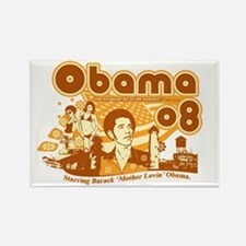 Obama Vintage Design Rectangle Magnet