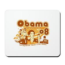 Obama Vintage Design Mousepad