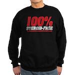 STEROID FREE Sweatshirt (dark)