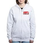 STEROID FREE Women's Zip Hoodie