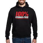 STEROID FREE Hoodie (dark)