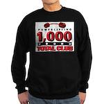 1,000-POUND TOTAL CLUB! Sweatshirt (dark)