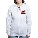 1,000-POUND TOTAL CLUB! Women's Zip Hoodie