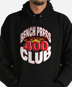 BENCH PRESS 400 CLUB Hoodie