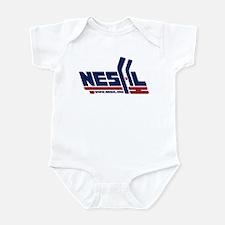 Cute Adult hockey Infant Bodysuit