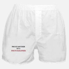 Proud Mother Of A PHOTOGRAPHER Boxer Shorts
