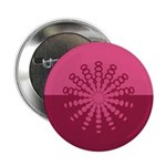 "Magenta Snowflakes 2.25"" Button (100 pack)"