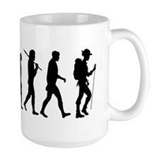 Hiking Backpacking Walking Mug