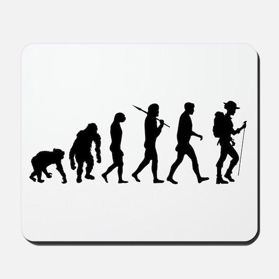 Hiking Backpacking Walking Mousepad