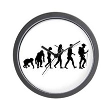 Hiking Backpacking Walking Wall Clock