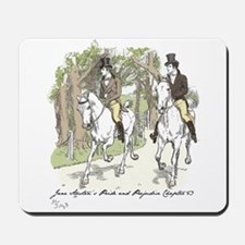 pride and Prejudice Ch 53 Mousepad