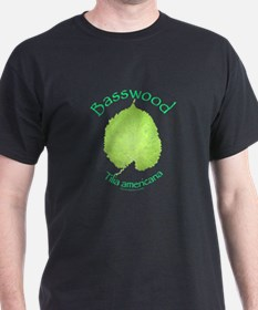 Basswood Leaf 2 T-Shirt