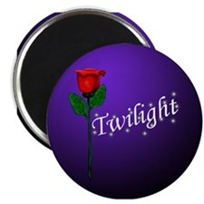 "Twilight Rose 2.25"" Magnet (10 pack)"