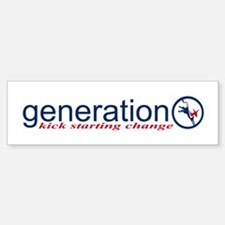 Generation O / Change, Bumper Bumper Bumper Sticker