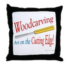 Cutting Edge v1 Throw Pillow