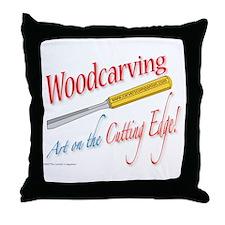 Cutting Edge v2 Throw Pillow