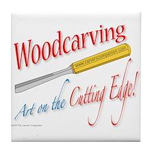 Cutting Edge v2 Tile Coaster