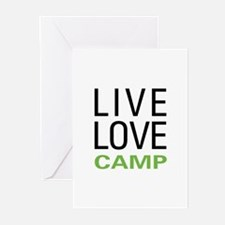 Live Love Camp Greeting Cards (Pk of 20)
