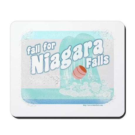 Fall for Niagara Falls Mousepad