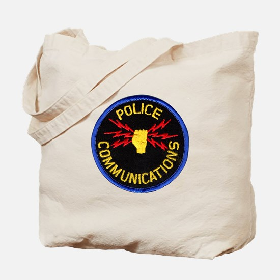 Police Communications Tote Bag