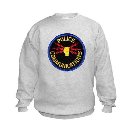 Police Communications Kids Sweatshirt