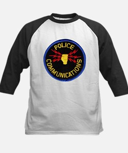 Police Communications Kids Baseball Jersey
