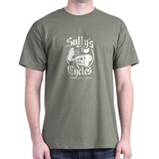 Sully's Cycles on T-Shirt