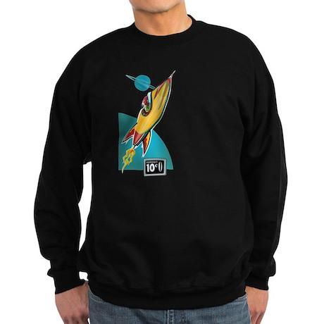 Space Rocket Ride Sweatshirt (dark)