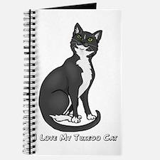 Love My Tuxedo Cat Journal