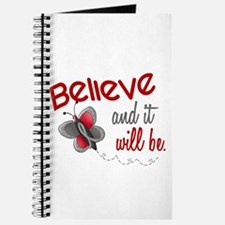 Believe 1 Butterfly 2 GREY Journal