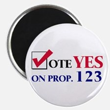 Vote YES on Prop 123 Magnet