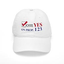 Vote YES on Prop 123 Baseball Baseball Cap