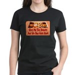 Give Me The Donuts Women's Dark T-Shirt