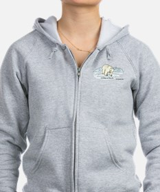 Save the Polar Bears Zip Hoodie