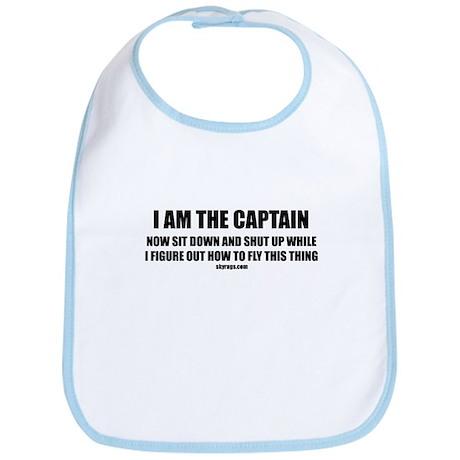 I AM THE CAPTAIN Bib
